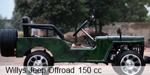 Kinderfahrzeug Con Willys benzina Minijeep motore Kinderjeep a nvmyN8w0OP